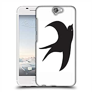 Snoogg bird vector element Designer Protective Back Case Cover For HTC one A9