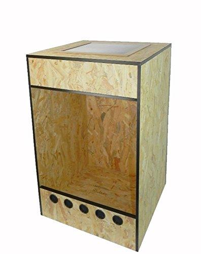 Holzterrarium/Hochterrarium in 50x50x80cm mit Gazedeckel