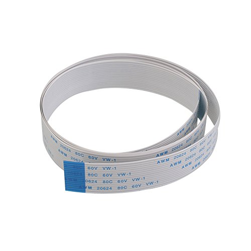 ffc kabel Cewaal Flachbandkabel, 100cm CSI Flachband FFC Kabel Linie Draht für die Raspberry Pi Kamera