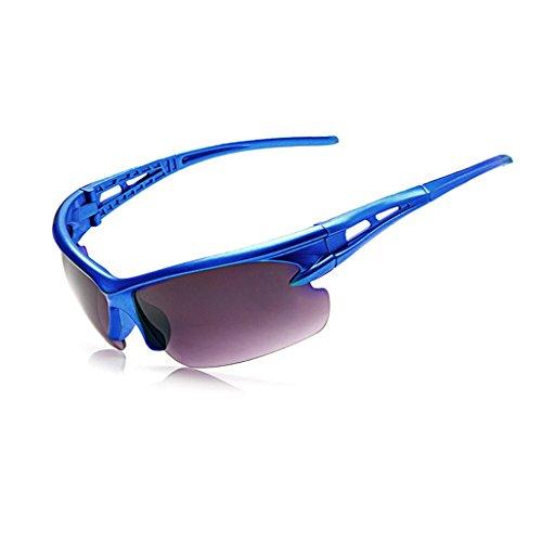 Occhiali da sole da ciclismo anti-uv occhiali da equitazione bici sport polarizzati blue