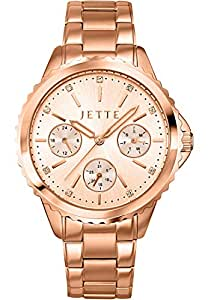 JETTE Time Damen-Armbanduhr Prime time Analog Quarz One