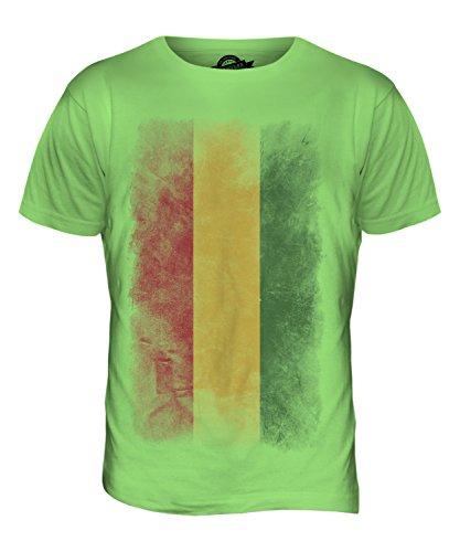 CandyMix Bolivien Verblichen Flagge Herren T Shirt Limettengrün