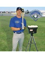 Personnel Pitcher Lance-balles de baseball avec trépied de 24mini batterie de baseball dure jusqu'à 4heures Baseball Entraînement
