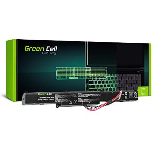 Green Cell® A41-X550E Laptop Akku für ASUS X550D X550DP R510D R510DP F550D F550DP F750L F750LB X750J X750JB X750JN X750L X750LB X750LN (4 Zellen 2200mAh 14.4V)
