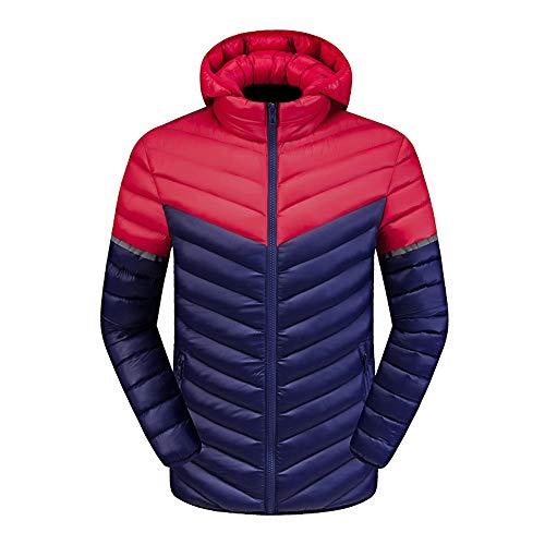 Männer Winter Warm Jacke Mantel Outwear Schlank Lange Graben Tasten Reißverschluss Klassisch Retro Sport weich Stricken Geschäft Gepolstert Warm Dick Weste Tops ()