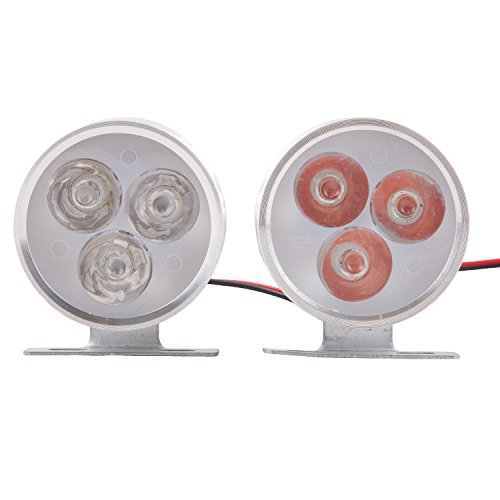 autofy universal round 3 led flashing strobe light for all bikes (set of 2,red and blue) Autofy Universal Round 3 LED Flashing Strobe Light for All Bikes (Set of 2,Red and Blue) 41 mDFw9XCL