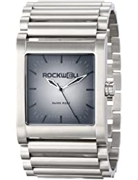 Rockwell Time Unisex RK104 Rook Stainless Steel Silver and Fade Reloj