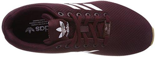 adidas Herren ZX Flux Gymnastikschuhe Mehrfarbig (Maroon/ftwwht/gum3 Cq2831)