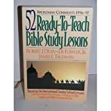 Broadman Comments 1996-97: 52 Ready-To-Teach Bible Study Lessons by Robert J. Dean (1996-05-03)