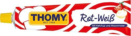 THOMY Rot-Weiß Ketchup und Mayonnaise, 200 ml Tube