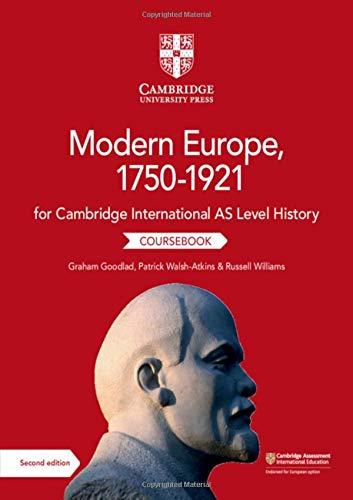 Cambridge international AS & A level history. Modern Europe 1750-1921. Coursebook. Per le Scuole superiori