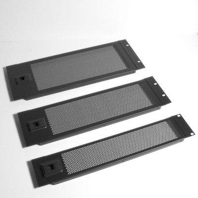 4U rack porta a battente ventilato/pannello