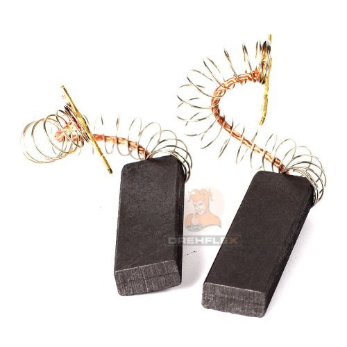 DREHFLEX - Spazzolino di ricambio - Spazzola di carbone - compatibile con diversi prodotti Bosch, Siemens, Constructa-12,5 x 5 x 36 mm-Senza supporto-parti numero: 154740/00154740