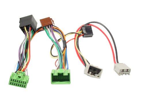 kram-iso2car-mute-adapter-volvo-s40-v50-2004-adaptador-para-cable-macho-hembra-de-plastico