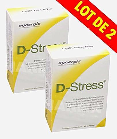 Synergia D-Stress 2x80 Comprimés