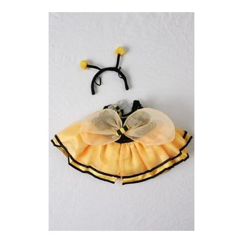 Bumble Bee Outfit Teddy Bear Clothes Fit 14 - 18 Build-a-bear, Vermont Teddy Bears, and Make Your Own Stuffed Animals by Stuffems Toy ()