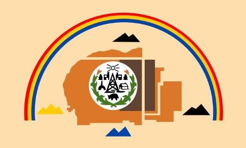 8,4 x 5,4 cm Autoaufkleber Navajo First Nation der USA Indianer Ureinwohner Sticker Aufkleber fürs Auto Motorrad Handy Laptop Indianer Motorrad