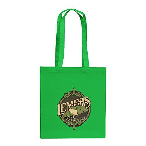 Texlab–lembas The Elvish waybread–sacchetto di stoffa Verde