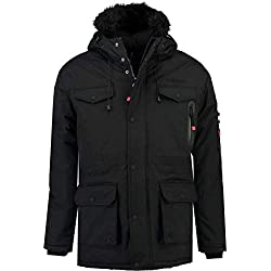 Geographical Norway Parka Hombre ALCALINE Negro L