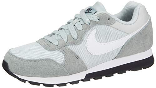 Nike Damen WMNS Md Runner 2 Fitnessschuhe, Mehrfarbig (Light Silver/White/Mica Green/Oil Grey 013), 36.5 EU -