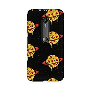 RAYITE Pizza Planet Love Premium Printed Mobile Back Case Cover For Moto G3