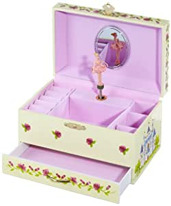 "Musicboxworld Jewellery Box Ballerina Playing ""Swan Lake"""