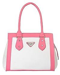 Fostelo Women's Elise Shoulder Bag (White) (FSB-657)