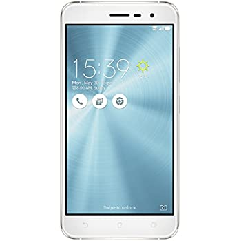 "ASUS ZE520KL-1B011WW Zenfone 3 - Smartphone de 5.2"" (WiFi, Dual SIM, grabación Video 4K, RAM de 4 GB, memoria interna de 64 GB, cámara de 16 Mp, Android 6.0), blanco"