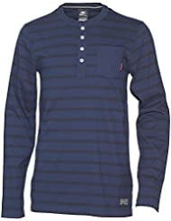 Nike Herren FC Barcelona Langarm Shirt Bluse Dunkelblau (XL)