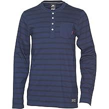 Nike Herren FC Barcelona Langarm Shirt Bluse Dunkelblau