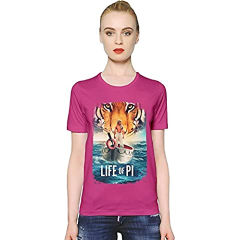 Life Of Pi Friends T-shirt donna Women T-Shirt Girl Ladies Stylish Fashion Fit Custom Apparel By Slick Stuff