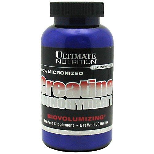 Ultimate Nutrition Creatine Monohydrate, Biovolumizing, 300 G by Ultimate