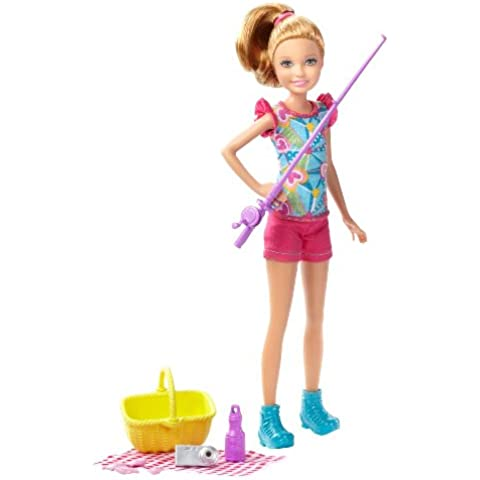 Barbie Life in the Dreamhouse: The Amaze Chase Camping Stacie Doll