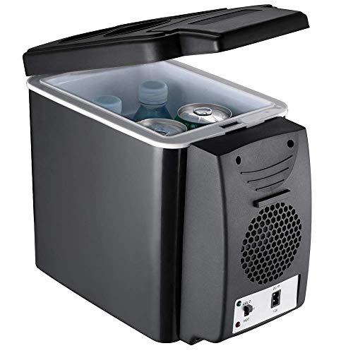 Preisvergleich Produktbild YTBLF Tragbarer Auto-Kleiner Kühlschrank,  12V-Auto-Mini-Kühlschrank,  Kleiner Kühlschrank,  Kühler und Wärmer mit 6L Kapazität,  kein Kühlmittel erforderlich