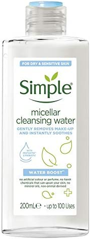 Simple Water Boost Micellar Cleansing Water, 200ml