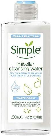 Simple Water Boost Micellar Cleansing Water, 200ml