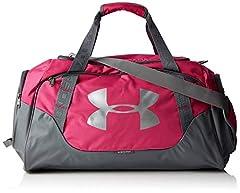 Idea Regalo - Under Armour, Undeniable Duffle 3.0, Borsone, Unisex adulto, Rosa (Tropic Pink/Graphite/Silver 654), XS 82 litri