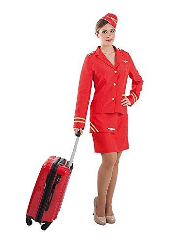 Imagen de disfraz azafata de vuelo  único, s