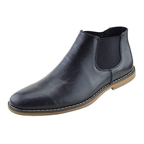Kick Footwear Pour Hommes Élégant Décontracté Bottines Chelsea