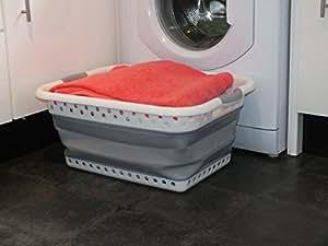 klappbar w schekorb kunststoff silikon gro stabiler. Black Bedroom Furniture Sets. Home Design Ideas