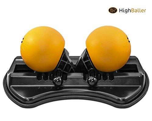 HighBaller - Massagebälle für Tiefengewebsmassage - Triggerpunkttherapie - Myofasziale Freisetzung - Einzigartiges Design.