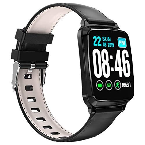 QHJ Smartwatch mit Pulsmesser, M8 Herzfrequenz Blutdruck