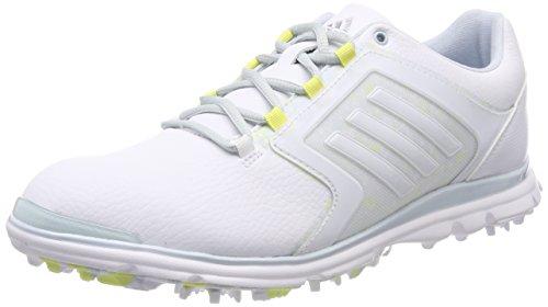 Adidas adipower Sport Boost 2 Damen Golfschuhe, Weiß Silber