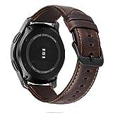 MroTech Bracelet Compatible avec Samsung Galaxy Watch 46mm Bracelet Cuir Gear s3...