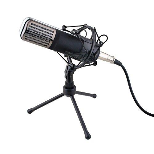 JAYLONG Mic Studio Recording Kondensatormikrofon Fold-Back Mit 2.5M USB-Kabel Für Computer, Fotografie Interview, Live-Streaming-Spiel Online