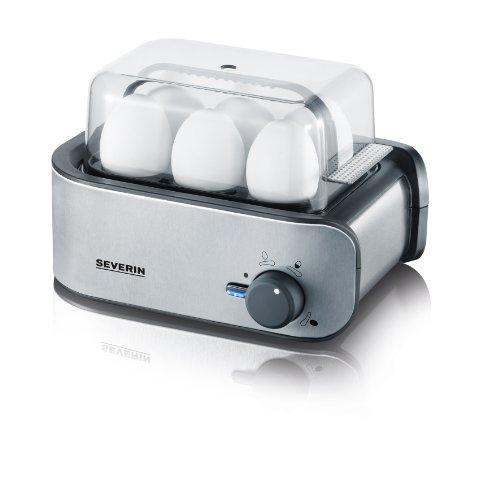 Severin EK 3134 Eierkocher (für 1 bis 6 Eier), edelstahl