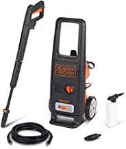 Black+Decker 1600W 125 Bar Pressure Washer Cleaner for Home, Garden & Car, Orange/Black - BXPW1600E-B5, 2
