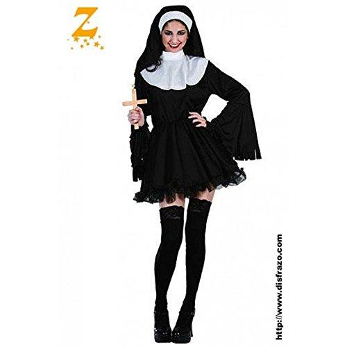 Naughty Weibliche Kostüm - Fyasa 706111-t04Naughty Nonne Kostüm, groß