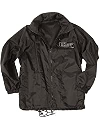 Mil-Tec Security Windbreaker Black