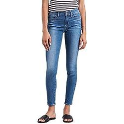 Pantalon Vaquero Levis 710 La Vie T2 Mujer 2530 Azul